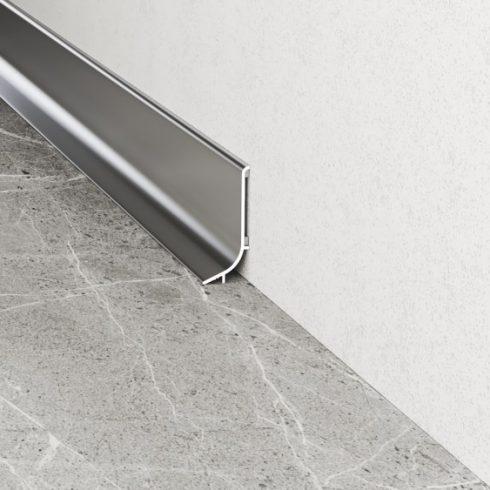 Alumínium lábazati szegély Q63 - 16,8x40 mm (270 cm)