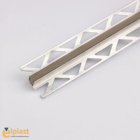 Alumínium dilatációs profil szürke fuga - 2500x10 mm