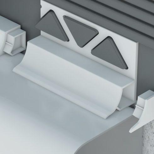 Kádszegély -  előre beépíthető fehér (250 cm)