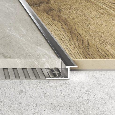 Burkolatváltó profil A57 natúr - 2500x10 mm