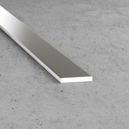 B04 alumínium lap - alumínium, ezüst 40x3 mm