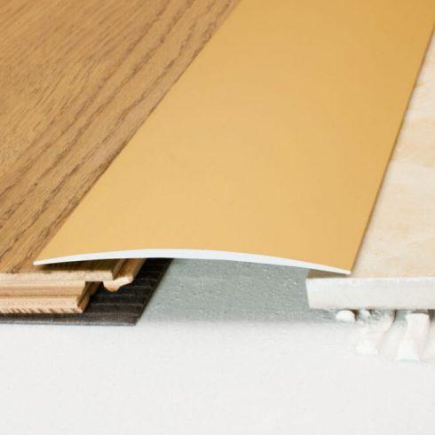 Burkolatváltó profil A72 - 100x6,2 mm - többféle méretben és színben
